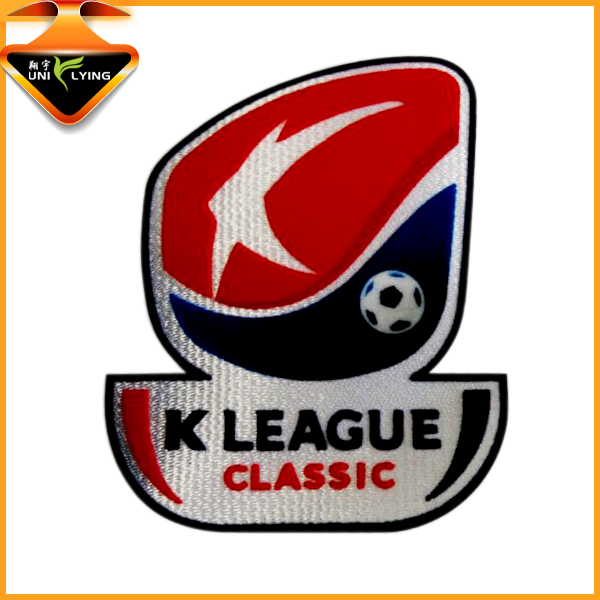 Factory Direct Sale Classic Sports 3D Flocking Patches For Clothing