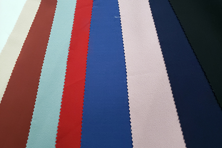 China market most popular custom knitted yarn dyed stretch polyester twill fabric jersey