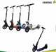 Aluminium Alloy 2 Wheel Off Road 10 inch Self Balancing Foldable Electric Kick Scooter with Black Color