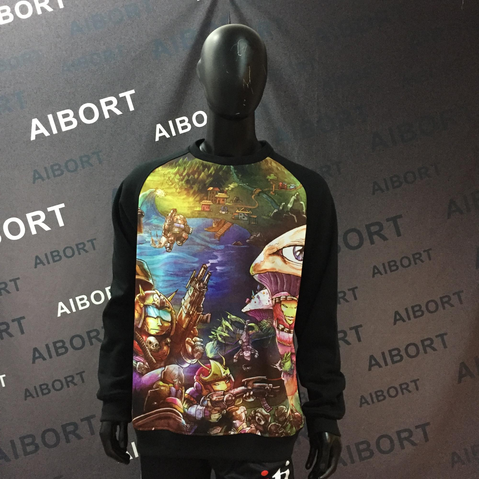 Hot sales cutomized street wear sublimation tee shirts