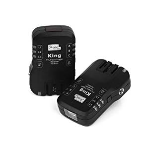 PIXEL King Wireless Radio TTL Flash Trigger for Sony DSLRs & Flashes
