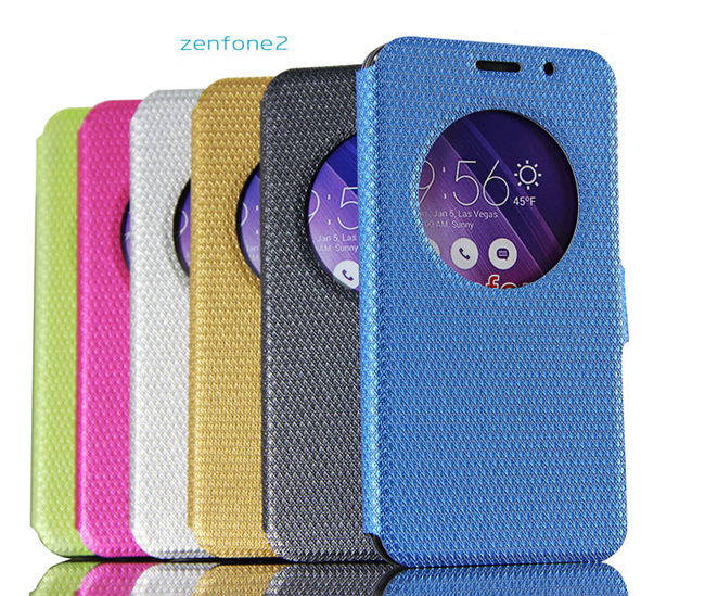 brand new 4e0e6 a71cd Hot Products Flip Cover Case For Asus Zenfone 2 5.5