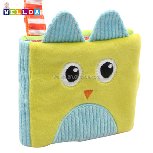 Top quality baby toys soft cloth books rustle sound