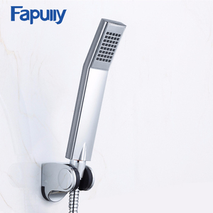 Fapully High Quality ABS Handheld Showerhead Bathroom accessories Water Saving Shower Heads