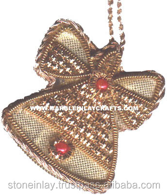 Hand Beaded Christmas Ornament