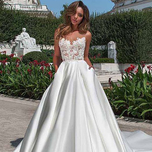fdbae4d2fed6 China Over Size Wedding Dress, China Over Size Wedding Dress Manufacturers  and Suppliers on Alibaba.com