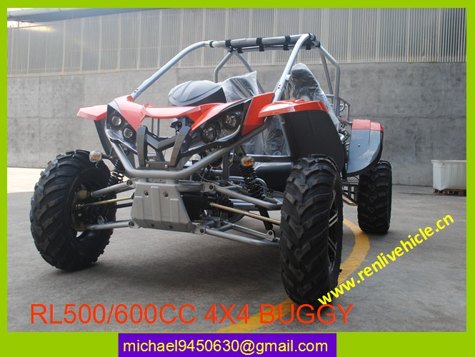 500cc EEC COC approval 4x4 All Terrain Bicman quad buggy