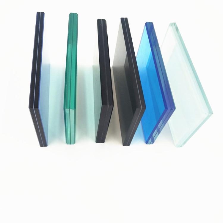 Fogli di alluminio di colore colorato strutturale di vetro della parete divisoria