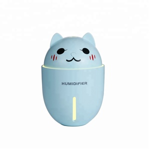 2018 hot selling products USB cool mist air ultrasonic humidifier for desk table