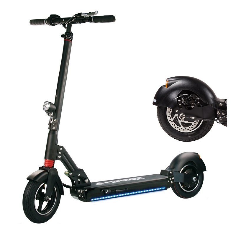 Adult powerful 500W 10inch big wheel off road electric fat tire e kick scooter