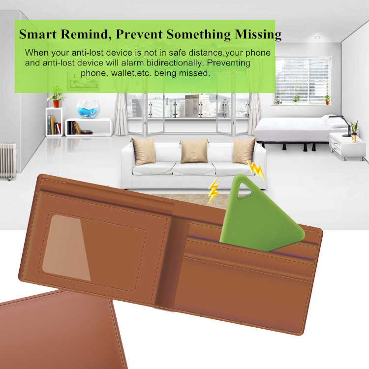 2017 OEM Smart Anti-Lost/theft Alarm tags Bluetooth Remote Shutter tracking device for everything