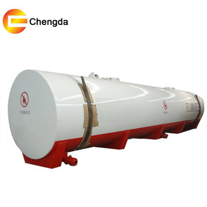 Double wall 42000 liters underground fuel storage tanks