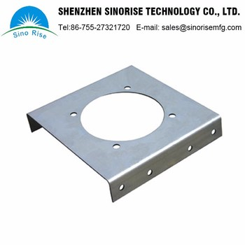 Shenzhen Alibaba Supplier Laser Cutting Parts Customized Wall Mount Brackets OEM Machining Services