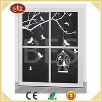 BES Light Bird Tree Wall Black Painting Canvas Idea