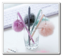 latest color plush ball pen,ball point pen for wholesale