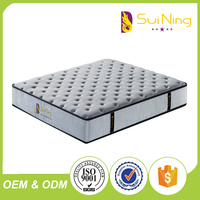 bedroom furniture high quality single double bed mattress firm