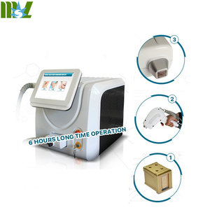 MSLDL06 Portable Permanent hair removal, 808nm Diode Laser hair removal machine for Salon
