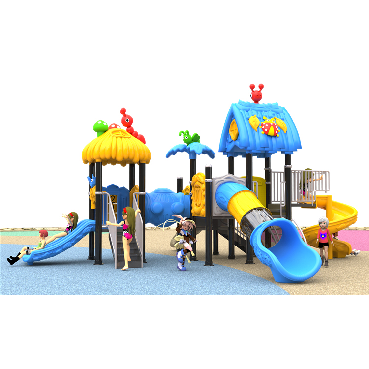 Forest theme Small Amusement Park Commercial Plastic Outdoor Playground Equipment