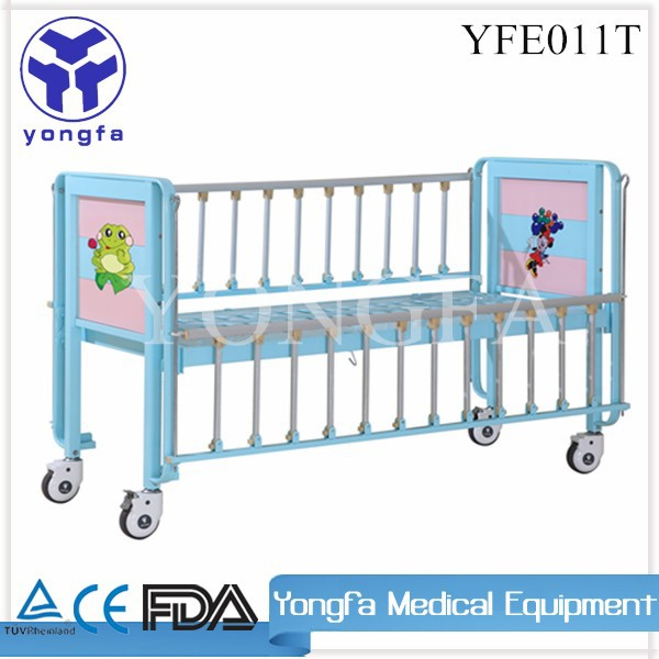 YFE011T hospital colorida cama infantil