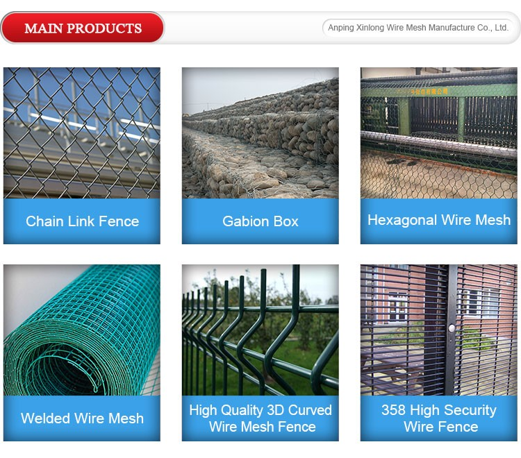 China Decorative Galfan Coated Steel Wire Mesh Welded Gabion Box ...