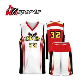 d30ba9a6583 Red And White Basketball Jerseys