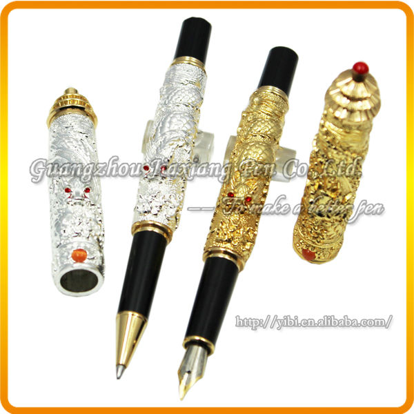 JHR-C780 jinhao high quality chinese carved dragon ink fountain pen