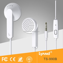 China high-end sound comfortable ear bud earphone for soft music