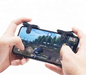 PUBG Mobile Game Joystick Controller L1R1 Fire Aim Trigger Button Clicker for PUBG / Knives Out/ Rules of survival Mobile Games