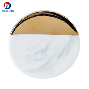 Newest Idea Home DecorationThe royal style Luxury Marble Coasters