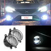 Led Fog Lamp With Daytime Running Light , Auto Parts Accessories For toyota hiace van yaris corolla
