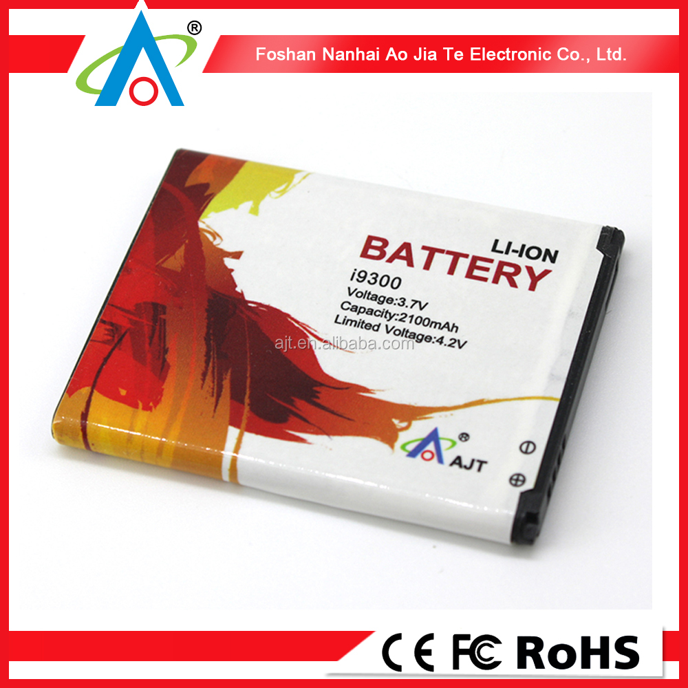 For Samsung Galaxy S3 Li-ion battery high capacity battery cell phone battery