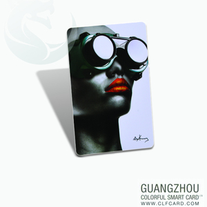 Top grade rfid plastic smart cards with overlay