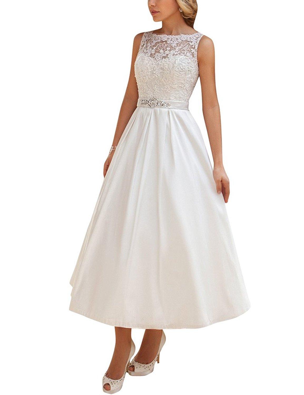 Cheap Tea Length Wedding Gowns, find Tea Length Wedding Gowns deals ...