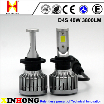 Car Accessories 12V 24V 40W 3800lm 9006 H8 H11 D4s Led Headlight Bulbs For Mazda  3