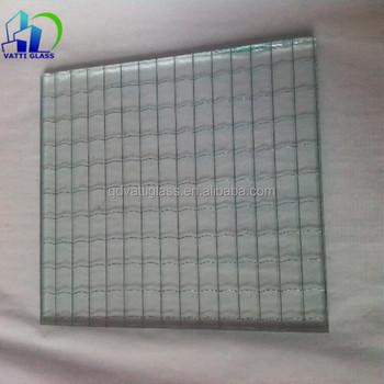 6mm Schutzgitter Klar Verdrahtet Glas,Drahtgeflecht Sicherheitsglas ...