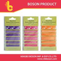 6 pcs color lace ribbon