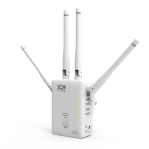 Best-selling model 1200Mbps WiFi Repeater 5GHz 867Mbps and 2.4GHz 300Mbps wifi range extender