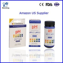universal high sensitive ph test strip,4.5-9.0 test ph paper
