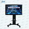 65 inch LCD touch screen multi media terminal all in one pc