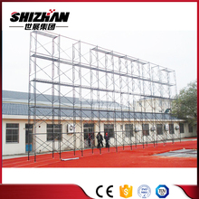 Aluminium tower scaffold/ladder scaffold frame/wall scaffold systems