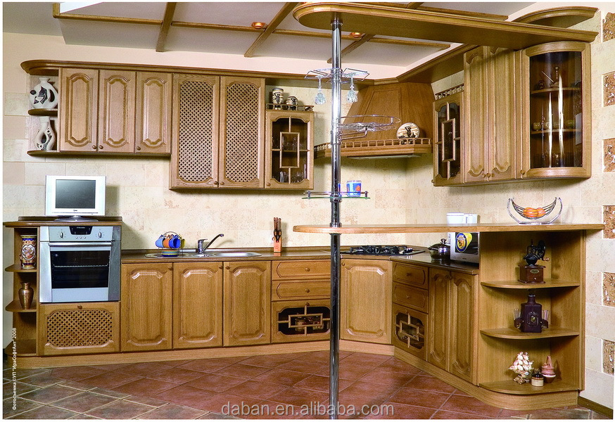 model penjualan panas lemari dapur kayu jati dinding dapur. Black Bedroom Furniture Sets. Home Design Ideas