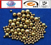 High quality 9.525mm 12.7mm 15.875mm 25.4mm 35mm 42mm 53mm solid brass ball