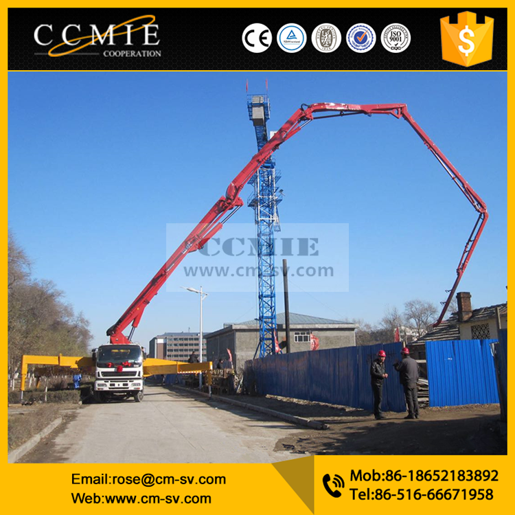 China manufacturer 43m xugong HB43K mini concrete pump truck for sale