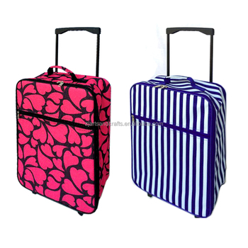 SXT15-208 19'' Promotional folding trolley case in 600D