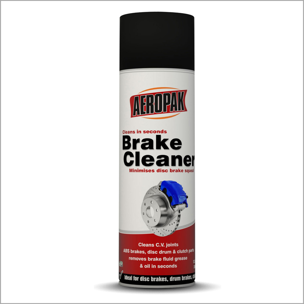 AEROPAK Brake Cleaner spray 500ML with SGS certificate for remove metal powder from brakes