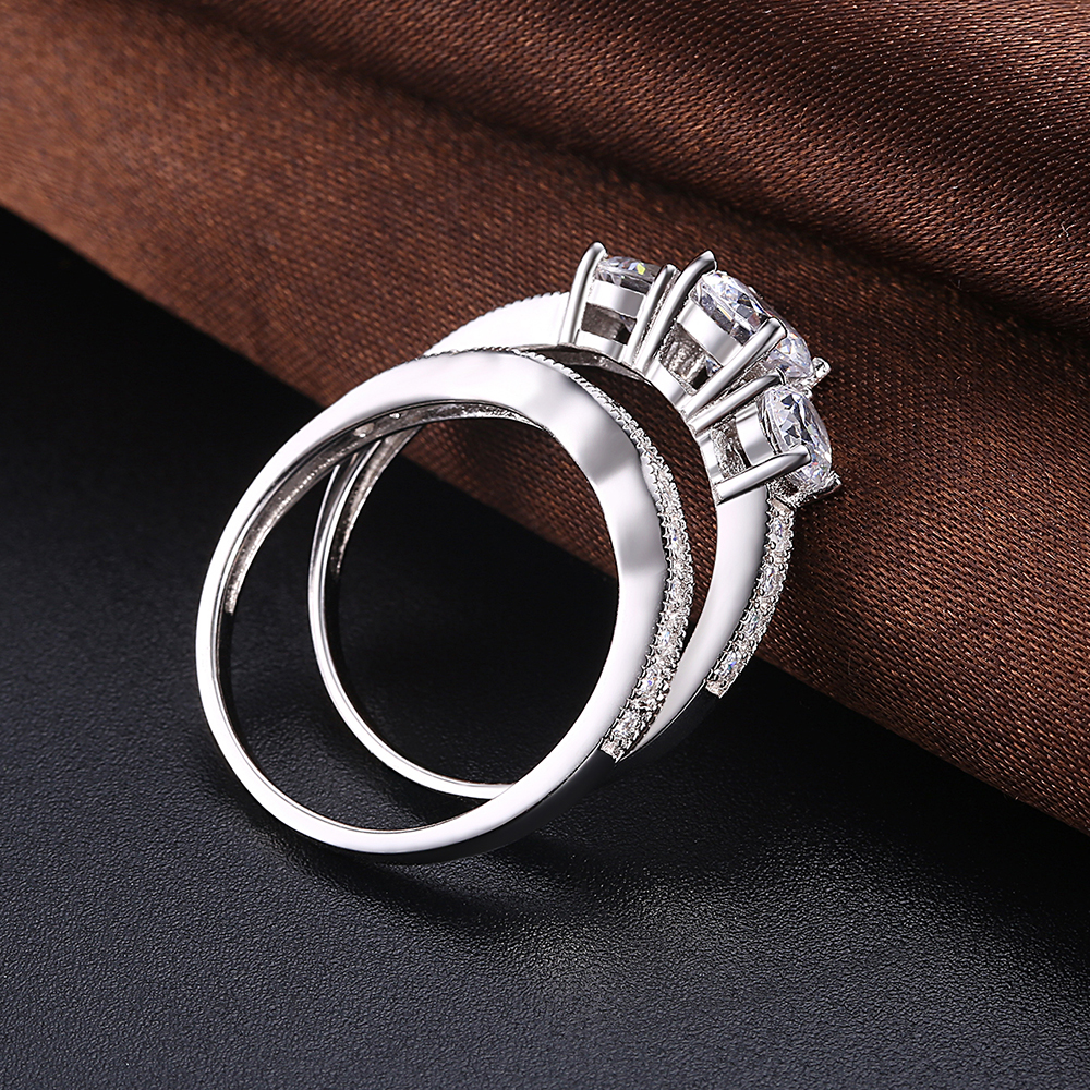 Best selling west wedding band ring sets
