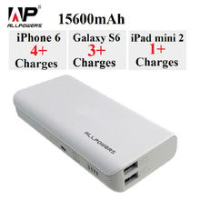 ALLPOWERS Powerbank 3.5A 15600mAh External Battery Charger Pack iPower Quick Charger Technology for Cell Phone Most USB Device