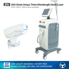 808/755/1064 Diode Arrays 600W Diode Laser Machine for Hair Removal & Skin Rejuvenation