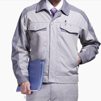 2015 OEM industrial uniforms manufacturer with high quality