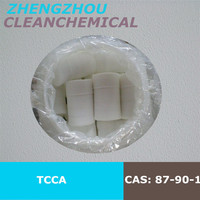 Trichloroisocyanuric Acid(TCCA) cas no. 87-90-1 biocide, germicide, bactericide water treatment hot sell in korea